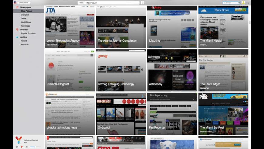 myNews Pro for Mac - review, screenshots