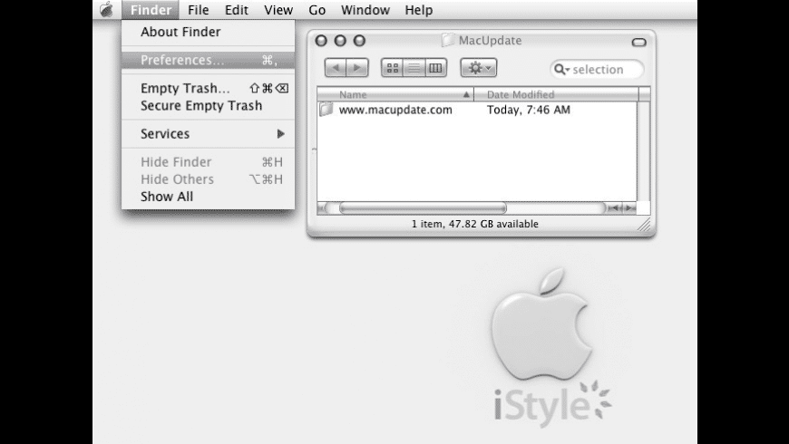 iStyle for Mac - review, screenshots