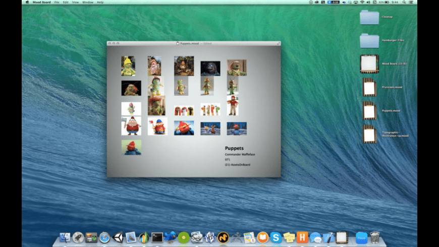 Mood Board for Mac - review, screenshots