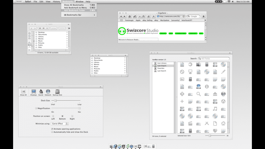 ChosenOS for Mac - review, screenshots