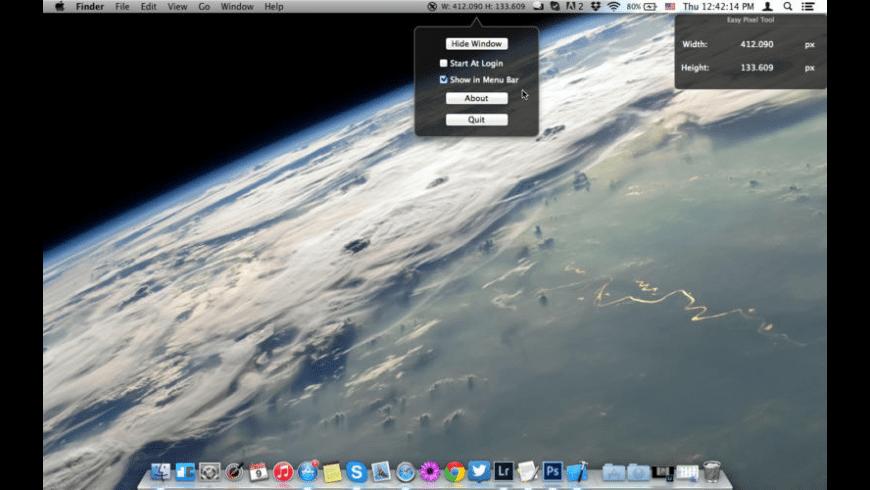 Easy Pixel Tool for Mac - review, screenshots