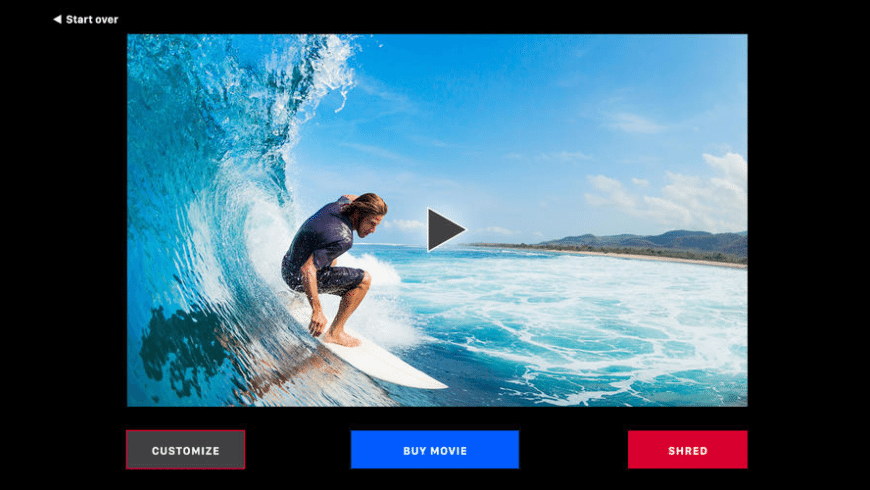 Shred Video for Mac - review, screenshots