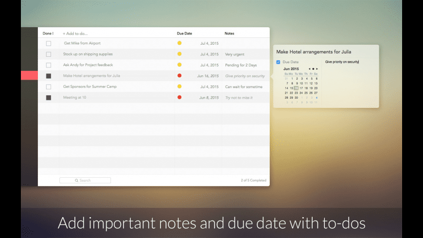 Business ToDo for Mac - review, screenshots