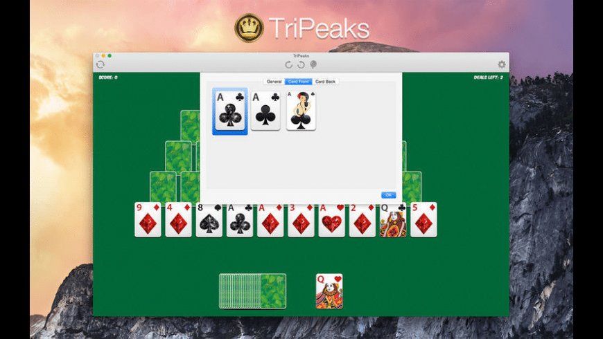 Tripeaks for Mac - review, screenshots