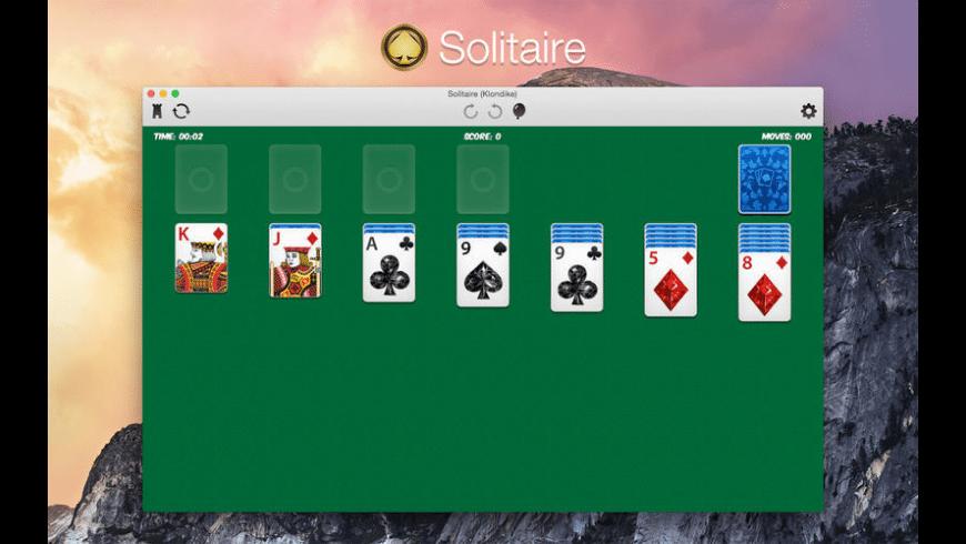 Solitaire (Klondike) for Mac - review, screenshots