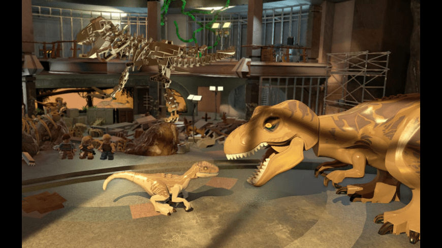 LEGO Jurassic World for Mac - review, screenshots