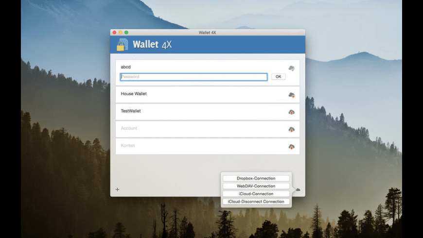 Wallet 4X for Mac - review, screenshots