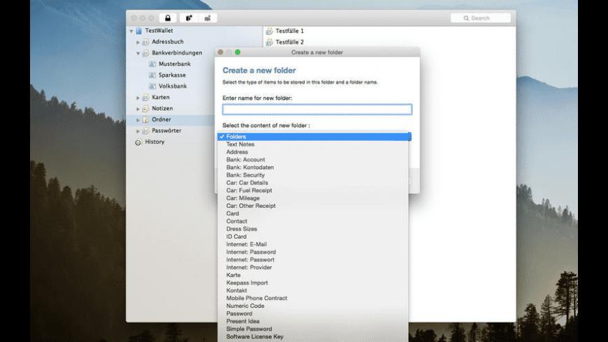 Wallet 4X for Mac - review, screenshots