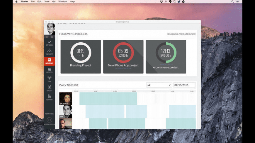 TrackingTime for Mac - review, screenshots