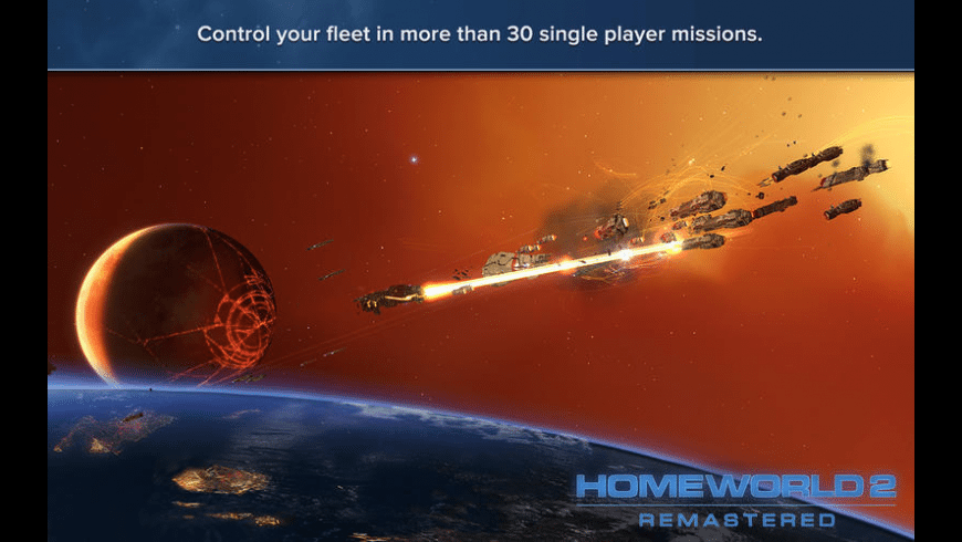 Homeworld Remastered Collection for Mac - review, screenshots
