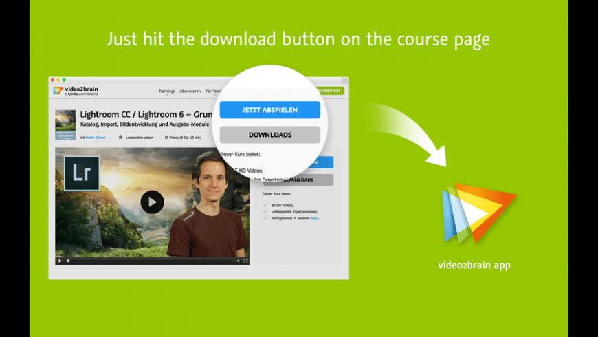 video2brain for Mac - review, screenshots