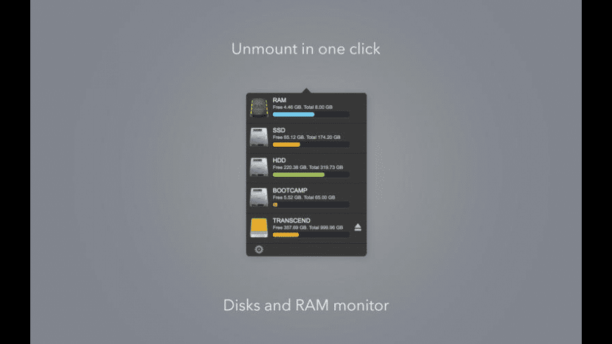 Unmount Disk for Mac - review, screenshots