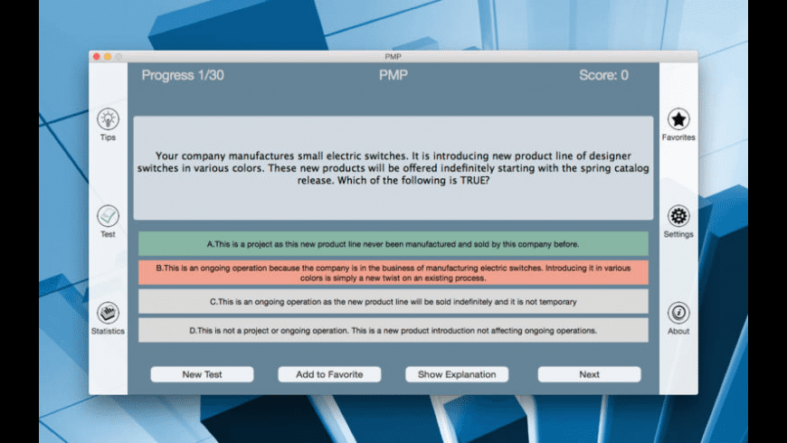 PMP for Mac - review, screenshots