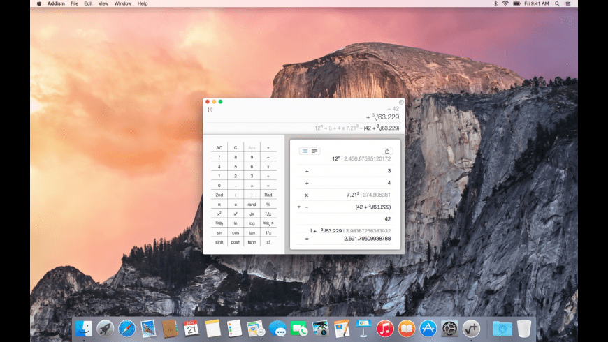 Addism for Mac - review, screenshots