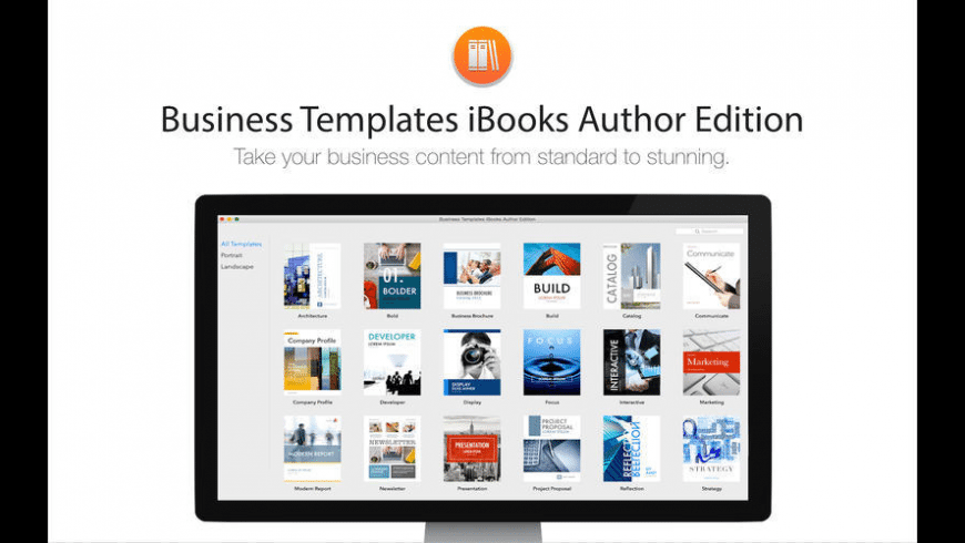 Business Templates iBooks Author Edition for Mac - review, screenshots