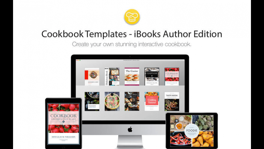 Cookbook Templates iBooks Author Edition for Mac - review, screenshots