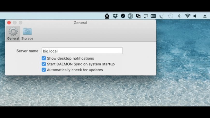 DAEMON Sync for Mac - review, screenshots