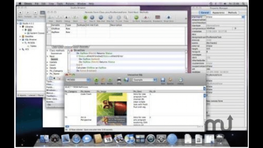 Omnis Studio for Mac - review, screenshots