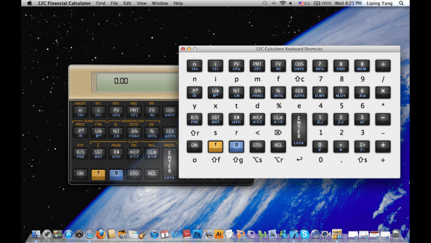 12C Financial Calculator for Mac - review, screenshots