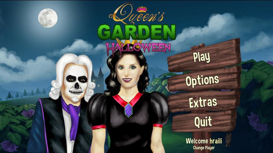 Queen's Garden Halloween for Mac - review, screenshots