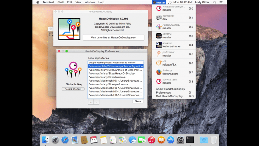 Heads On Display for Mac - review, screenshots