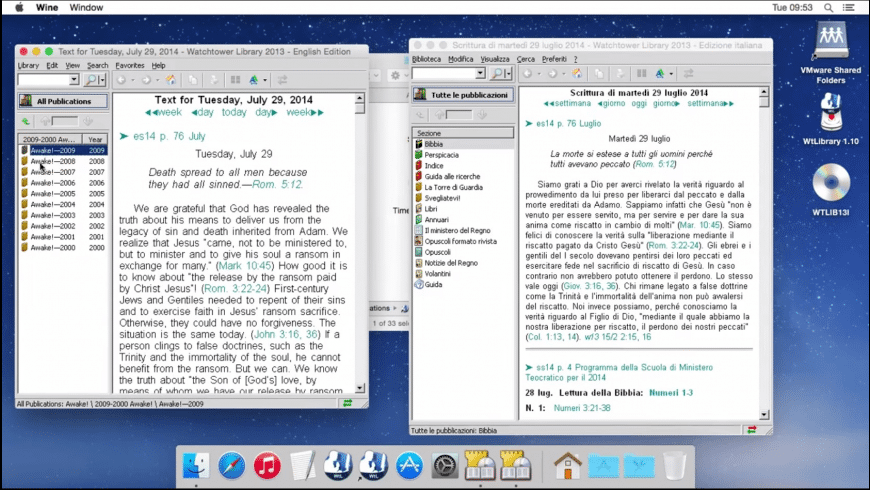 WtLibrary for Mac - review, screenshots