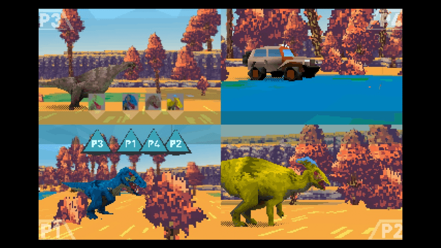 Dino Walk Simulator for Mac - review, screenshots