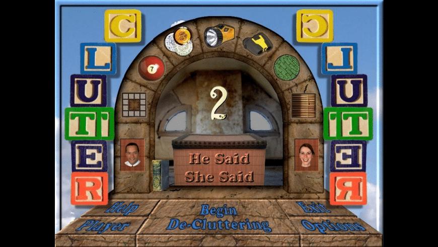 Clutter II: He Said, She Said for Mac - review, screenshots