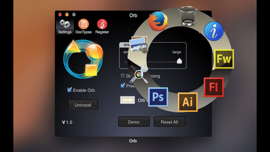 Orb for Mac - review, screenshots