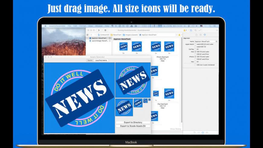 AssetsGenerator for Mac - review, screenshots