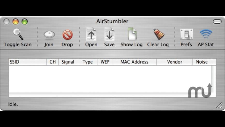 AirStumbler for Mac - review, screenshots
