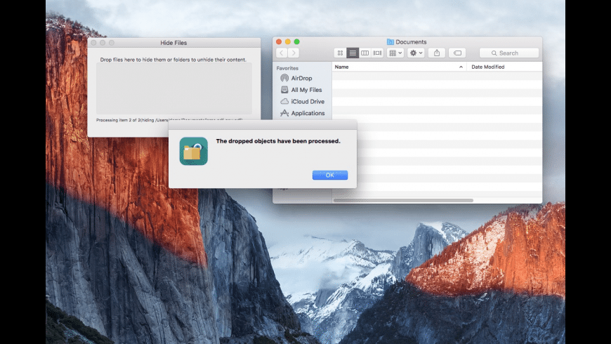 Hide Files for Mac - review, screenshots