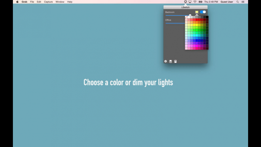 LSwitch for LIFX for Mac - review, screenshots