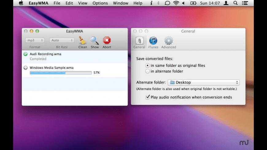 EasyWMA for Mac - review, screenshots
