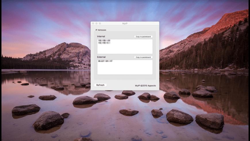 MyIP for Mac - review, screenshots