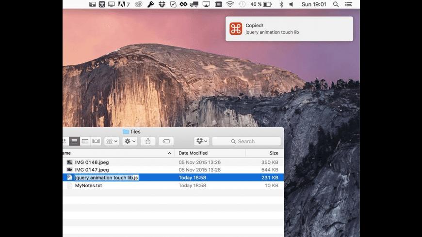 Copied for Mac - review, screenshots
