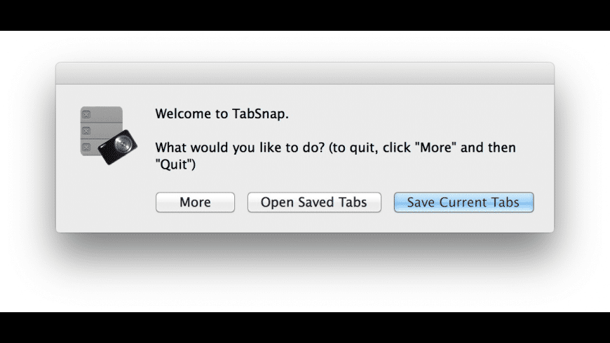 TabSnap for Mac - review, screenshots