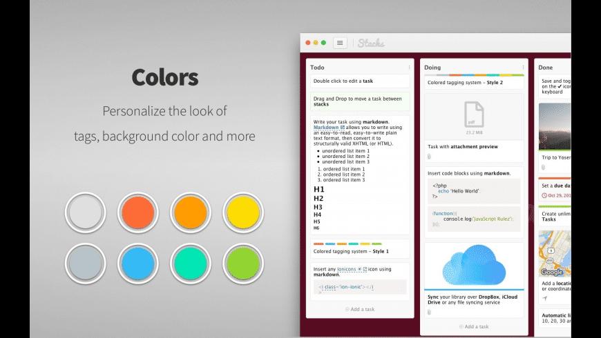 Stacks for Mac - review, screenshots
