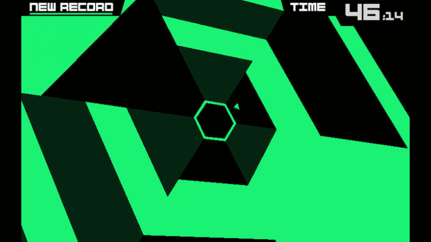 Super Hexagon for Mac - review, screenshots