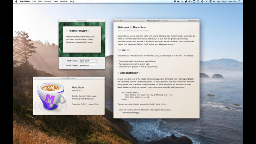 Macchiato for Mac - review, screenshots