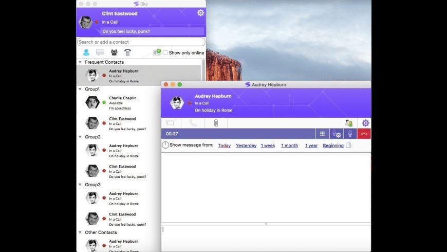 Sky for Mac - review, screenshots
