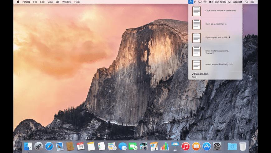 Recent for Mac - review, screenshots