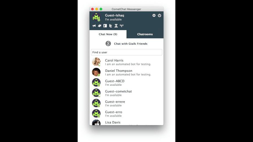 CometChat Desktop Messenger for Mac - review, screenshots