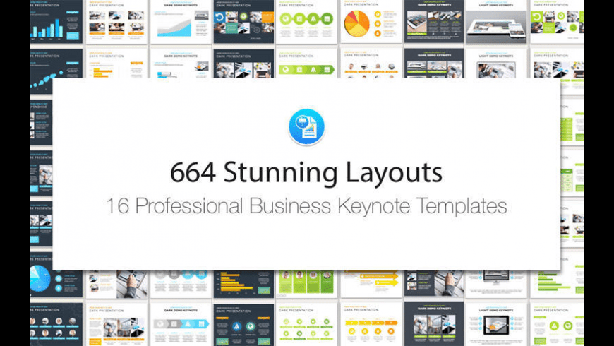 Business Templates for Keynote for Mac - review, screenshots