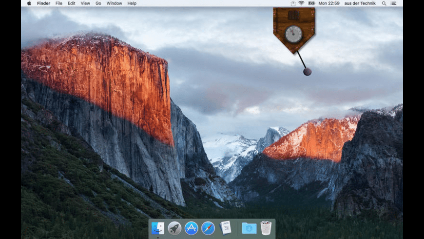 Kuckucksuhr for Mac - review, screenshots