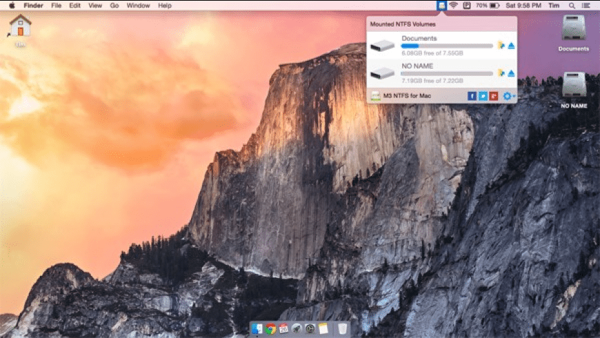 M3 NTFS for Mac - review, screenshots