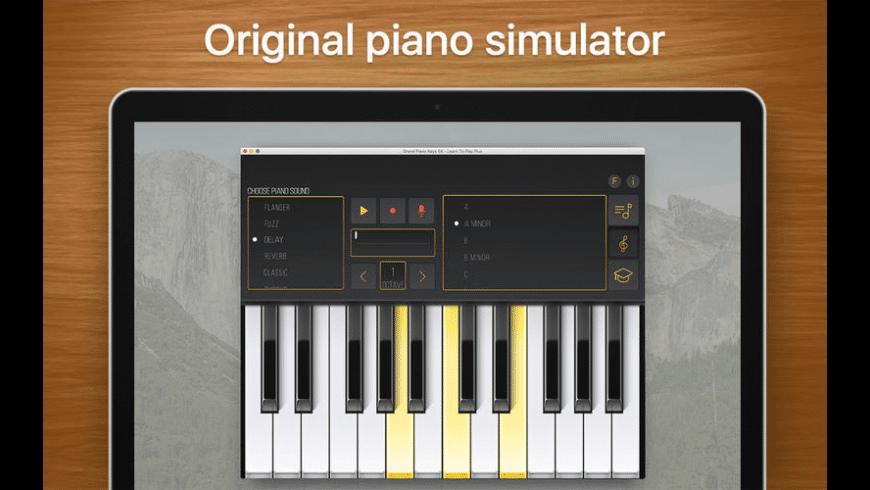 Grand Piano Keys 5K for Mac - review, screenshots