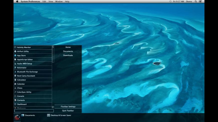 iTaskbar for Mac - review, screenshots