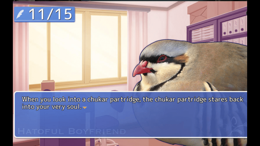 Hatoful Boyfriend for Mac - review, screenshots