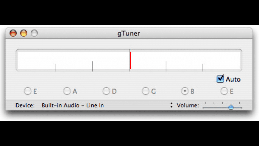 gTuner for Mac - review, screenshots